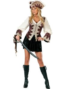 Royal Lady Pirate Womens Costume