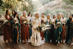 Wonderful Perfect Wedding Dress For The Bride Ideas. Ineffable Perfect Wedding Dress For The Bride Ideas. Forest Wedding, Boho Wedding, Dream Wedding, Wedding Day, Wedding Tips, Teal Fall Wedding, Western Wedding Ideas, Western Weddings, Jewel Tone Wedding