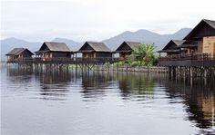 Inle Lake- #Myanmar - Golden Island Cottages © Ken Pao