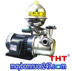 Máy bơm phun tăng áp vỏ gang đầu inox NTP HJA225-1.50 26 3/4HP | Máy bơm nước 247