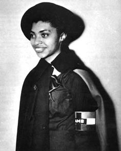 Salaria Kea, a nurse with the second American Medical Unit in the Spanish Civil War.