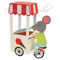 Samantha Walker's Imaginary World: Silhouette Tutorial: Ice Cream man box