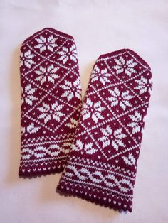 Norwegian Knitting, Knitting Ideas, Mittens, Gloves, Socks, Hats, Brown, Fingerless Mittens, Hat