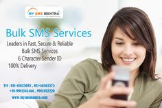 Bulk SMS marketing in India is growing at a rapid rate. If you have the right bulk SMS software, it is easy to send bulk SMS. it is easy to send bulk SMS. know more visit : http://www.mysmsmantra.com/