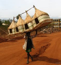 Chicken Coops!.. Near Arba Minch, Ethiopia, my home away from home.