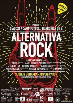 """La banda catalana Malos Tragos a punto de dar a luz su nuevo álbum de versiones """"Back to the past"""" estarán en la la 3ª edición Alternativa ROCK 2017 enGuardiola …"""