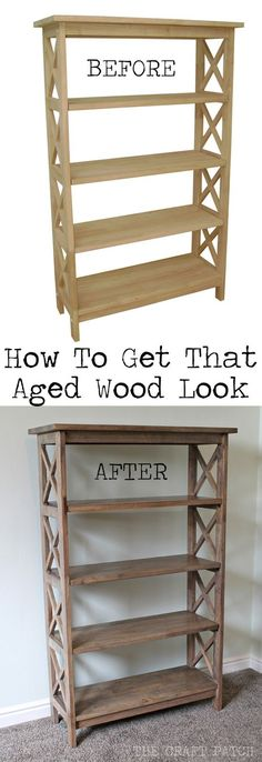 The Craft Patch: Antique Look Wood Stain