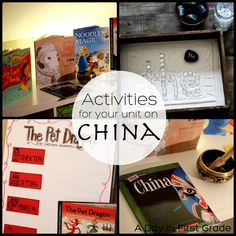 """Picture books and lessons for your unit on China-- perfect for Chinese New Year and an """"around the world"""" unit"""