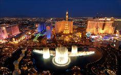 LAS VEGAS - ESTADOS UNIDOS - Maior cidade do Estado de Nevada, mais conhecida como cidade dos cassinos,em meio ao deserto americano. Em menos de 50 anos, tornou-se um dos principais destinos turísticos do mundo.