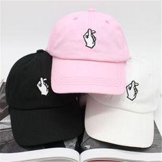 2016 verano nueva moda salvaje hombres y mujeres gorra de béisbol gorra de ocio masculino hueso gesto cariñoso antisocial club social