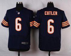 6715233e3 Men 6 Jay Cutler Jersey Football Chicago Bears Jersey