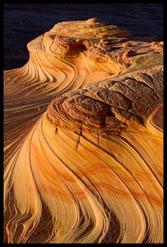Sandstone Waves, Coyote Buttes North, Paria Canyon-Vermilion Cliffs Wilderness, Arizona/Utah border by Justin Reznick
