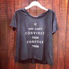 Deal!t-shirt @ Aritzia