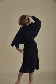 Off-shore Dress Cape Dress, Flare Skirt, Butler, Silk, Winter, Skirts, Dresses, Fashion, Winter Time