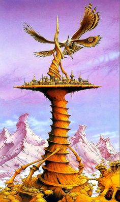 Safe and Sound on the Sundial // Rodney Matthews