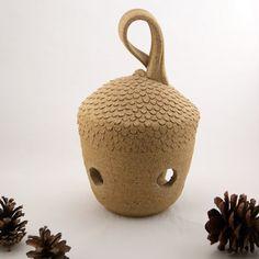 Acorn Lantern Big - Ready to Ship for the Holidays. $58.00, via Etsy.