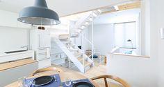 #kitchen #wood #light #white