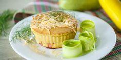 Muffins aux courgettes, jambon et cumin | Mes recettes faciles