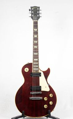 /Gibson-1975-Les-Paul-Deluxe-Wine-Red-Joe-Barden-Electric-Guitar