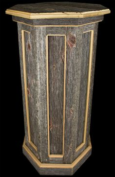 wooden floor pedestals | larger image this product was added to our catalog on