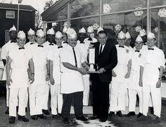 Danville, IL - Burger Chef 1963 - with Hubert Suggs, Butch Schroeder, Henry Schroeder and Bob Hurst.