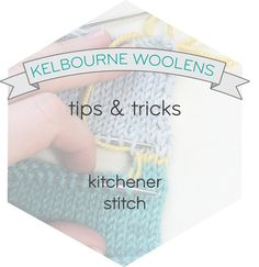 Crochet Kitchener Stitch : ... Tips and Tricks on Pinterest Tips And Tricks, Blog Tips and Stitches