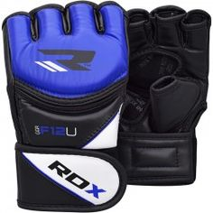 RDX Training MMA Leather-X Grappling Gloves