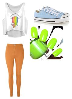 """""""Untitled #24"""" by samariowens on Polyvore featuring Glamorous and Converse"""