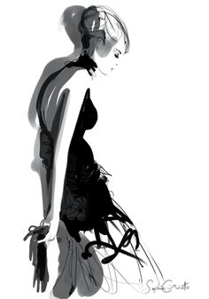 Fashion illustration // Sophie Griotto