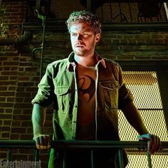 """Before we dive into #TheDefenders, we need to meet our final team member: #IronFist.  The solo series starring #GameOfThrones actor #FinnJones hits @netflix in March. Fans won't need to brush up on the comics to understand martial artist Danny Rand. """"This is my version of Iron Fist, this is [showrunner] Scott Bruck's and Netlifx's and Marvel TV's version of Iron First,"""" Jones says.  It's gonna be AWESOME. : FINLAY MACKAY FOR EW"""