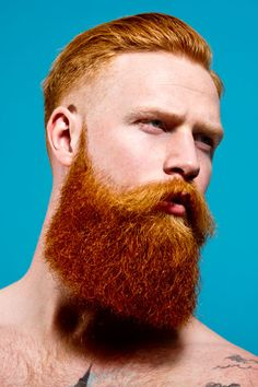 """Redheaded Men Are Finally Getting Their Due  #refinery29  http://www.refinery29.com/2014/08/72755/male-redheads-hollywood#slide4  Where did you find the models for the shoot? """"I started looking at modeling agencies in London, and there just weren't any redheads. Quite a few of the agents were surprised that they didn't have any ginger men on their books at all. There's this one agency, AMCK, who had several — well, they had four. So, I shot all of those guys for the trailer, and from that…"""