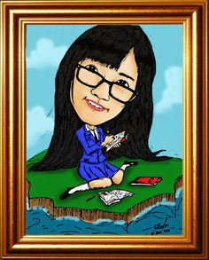 Franzeska Edelyn (Re) on cartoon. Nothing memory about it :P *pas belajar coloring di Ps