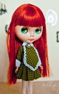 http://www.etsy.com/shop/elbydoll?ref=seller_info (Not my doll! - just to be clear lol) I already snatched up this dress so don't even think about it!  elbydoll/Cherry On Top does beautiful dolly clothes. I truly hope to see more from this shop!