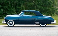 1951 Chevy Convertible ... late for an important date