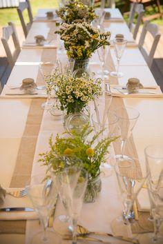 Pretty and casual summer tablescape.   wedding-in-tzia-greece-3d
