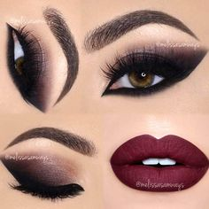 Maroon lipstick is the freshest trend, and we happen to know why. What is more, we happen to know the best ways of pulling off this look without looking anything but gorgeous. Anything on the scale from subtle to dramatic look with the involvement of marron shades is covered. Take a peek! #makeup #makeuplover #makeupjunkie #maroonlipstick