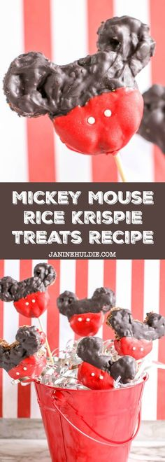 For those who are forever fans of Mickey Mouse like my family, then check out my newest recipe tutorial here for Mickey Mouse Rice Krispie Treats. Rice Krispy Treats Recipe, Rice Krispie Treats, Rice Krispies, Disney Diy, Disney Food, Disney Recipes, Cobbler, New Recipes, Easy Recipes