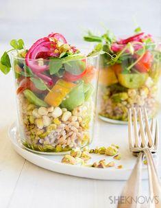 Roasted corn, farro and tomato salad | SheKnows.com
