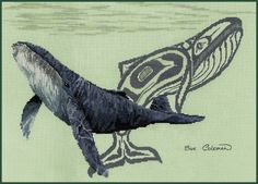 Humpback Whale art
