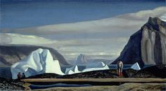 Rockwell Kent's Greenland Rockwell Kent, American Realism, American Artists, Art Gallery Of Ontario, Art Students League, Landscape Art, Vintage Art, Inspiration, Illustration