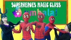 Umbala Double Spiderman Frozen Elsa Baby Teacher Maleficent AT SCHOOL! S...