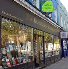 It is better to have visited and lost than never to have visited at all. The Kennington Bookshop, London
