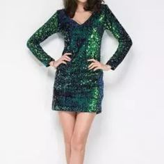 New S sequined sheath dress New in package condition. Size small. Dresses Mini