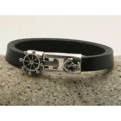 #leather #bracelets #handmade #fathersday eliziatelye.artfire.com
