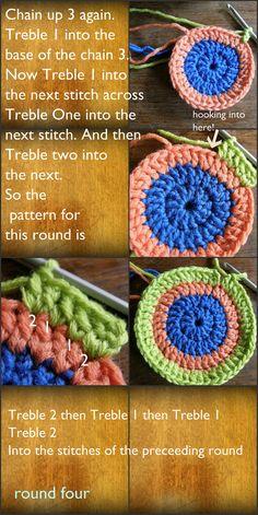 Crochet Seamless Circle