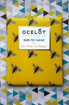 OCELOT chocolate. How gorgeous are all these packagings from the brand... Freaking Hilarious!!