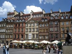 Warsaw, the capital of Poland