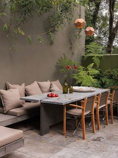 Barrancas house by Ezequiel Farca + Cristina Grappin – casalibrary Barrancas Haus von Ezequiel Farca + Cristina Grappin - Casalibrary Outdoor Rooms, Outdoor Dining, Outdoor Furniture Sets, Outdoor Decor, Adirondack Furniture, Simple Furniture, Furniture Nyc, Recycled Furniture, Furniture Layout