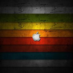 One of the best colorful Apple wallpaper for ipad
