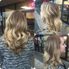Gave her some root with some balayage action